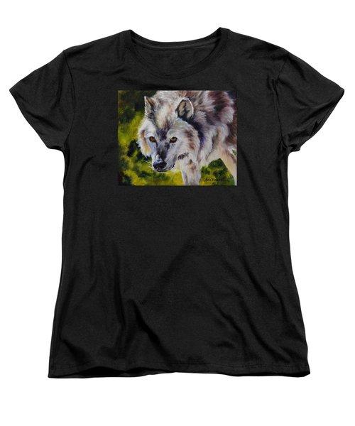 New Kid On The Block Women's T-Shirt (Standard Cut) by Lori Brackett