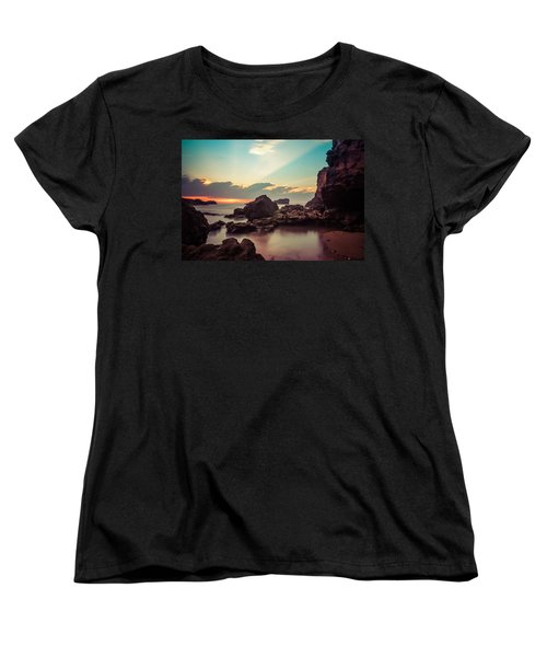 Women's T-Shirt (Standard Cut) featuring the photograph New Vision by Thierry Bouriat