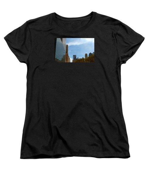Women's T-Shirt (Standard Cut) featuring the photograph New York by Helen Haw