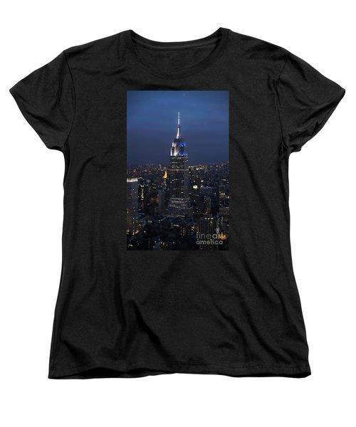 New York State Of Mind Women's T-Shirt (Standard Cut) by Lilliana Mendez