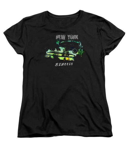 New York Streets Women's T-Shirt (Standard Cut) by Kim Gauge