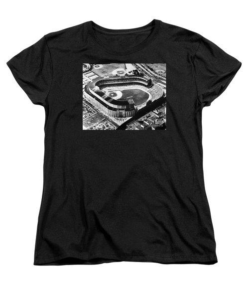 New York: Yankee Stadium Women's T-Shirt (Standard Cut) by Granger