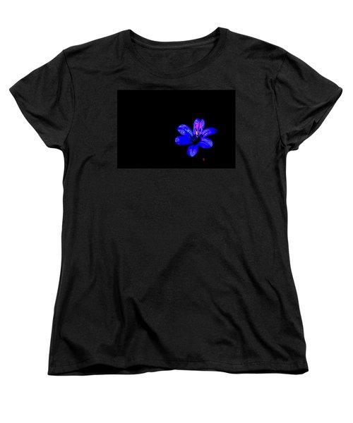 Night Blue Women's T-Shirt (Standard Cut) by Richard Patmore