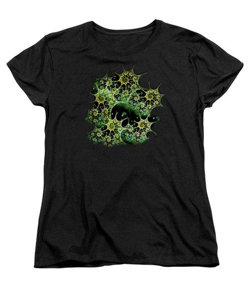 Night Lace Women's T-Shirt (Standard Cut) by Anastasiya Malakhova