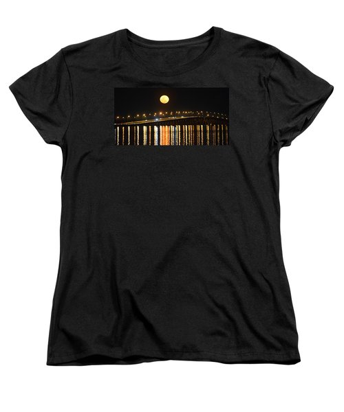 Night Of Lights Women's T-Shirt (Standard Cut) by Gary Smith