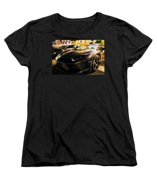 Night Soul Women's T-Shirt (Standard Cut) by Cesare Bargiggia