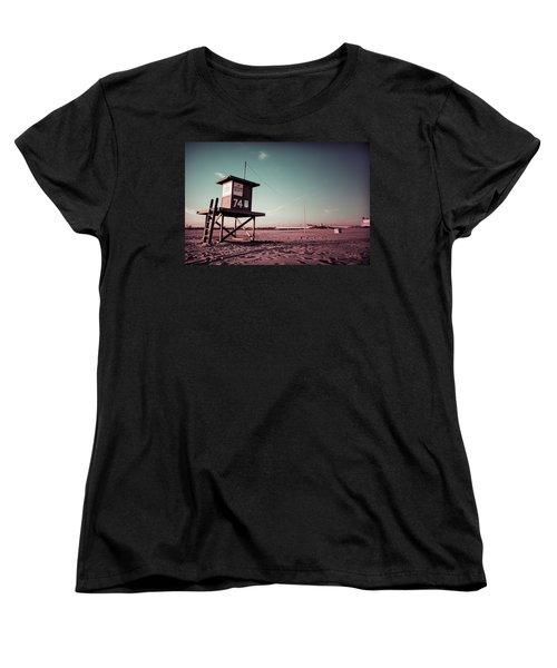 No Lifeguard On Duty Women's T-Shirt (Standard Cut) by Joseph Westrupp