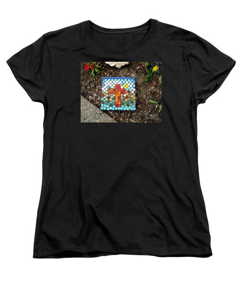 No Stepping Stone Women's T-Shirt (Standard Cut) by Marie Neder