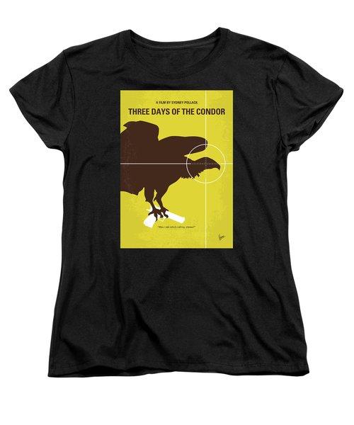 No659 My Three Days Of The Condor Minimal Movie Poster Women's T-Shirt (Standard Cut)