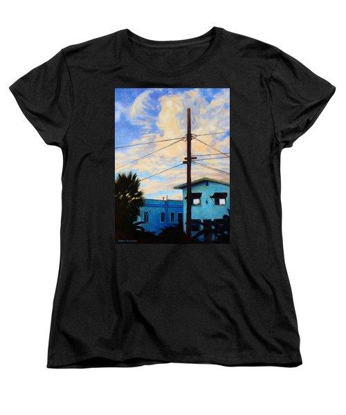 Normal Ave Women's T-Shirt (Standard Cut) by Andrew Danielsen
