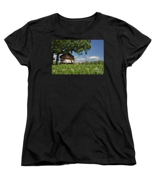 Women's T-Shirt (Standard Cut) featuring the photograph North Carolina Tobacco by Benanne Stiens