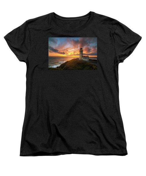 Women's T-Shirt (Standard Cut) featuring the photograph North Head Dreaming by Ryan Manuel