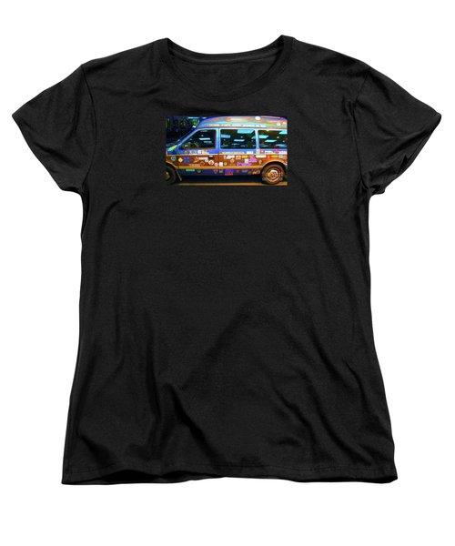 Women's T-Shirt (Standard Cut) featuring the photograph Grateful Dead - Not Fade Away by Susan Carella