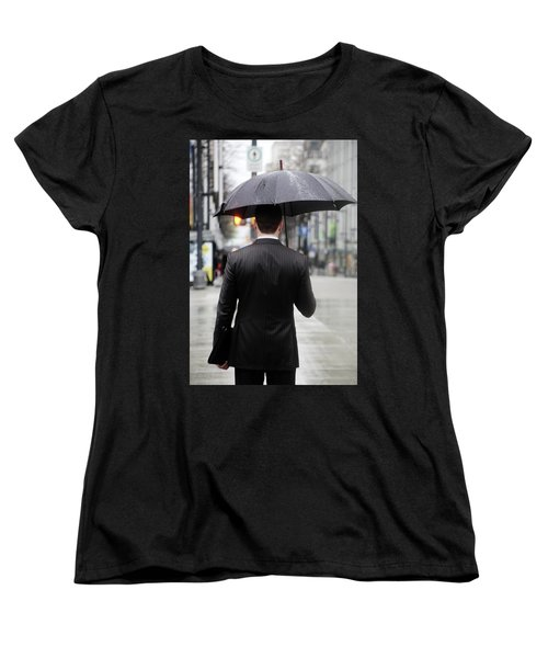 Women's T-Shirt (Standard Cut) featuring the photograph Not Me  by Empty Wall