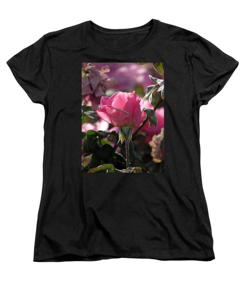 Women's T-Shirt (Standard Cut) featuring the photograph Not Perfect But Special by Laurel Powell