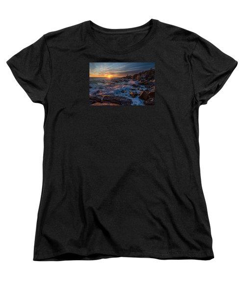 November Morning Women's T-Shirt (Standard Cut) by Paul Noble