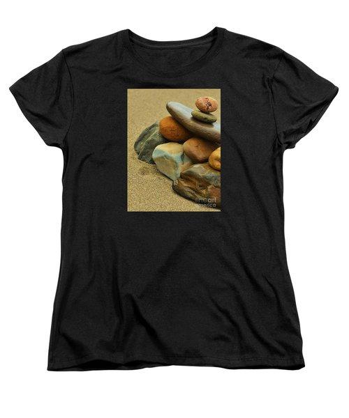 Ocean's Art Women's T-Shirt (Standard Cut) by Pamela Blizzard