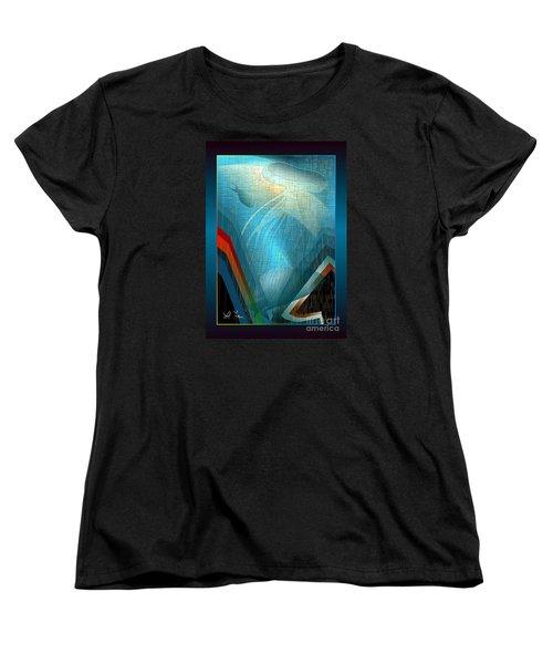 Octopus Women's T-Shirt (Standard Cut) by Leo Symon