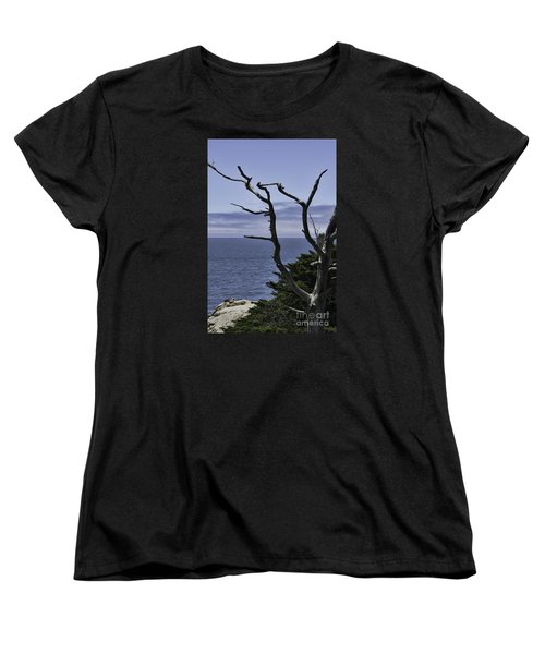 Women's T-Shirt (Standard Cut) featuring the photograph Off Shore by Judy Wolinsky