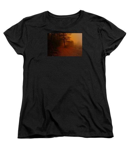 Off The Beaten Path Women's T-Shirt (Standard Cut) by Salman Ravish