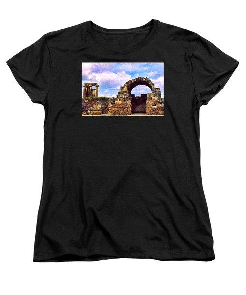 Women's T-Shirt (Standard Cut) featuring the photograph Old Corinth Shop by Trey Foerster