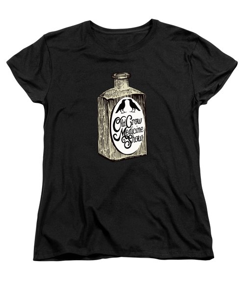 Old Crow Medicine Show Tonic Women's T-Shirt (Standard Cut) by Little Bunny Sunshine