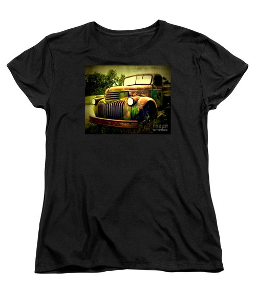Old Flatbed 2 Women's T-Shirt (Standard Cut) by Perry Webster