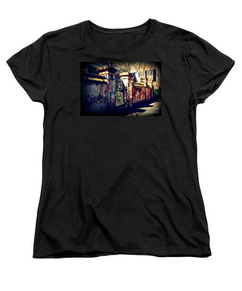 Old Iron Gate In Charleston Sc Women's T-Shirt (Standard Cut)