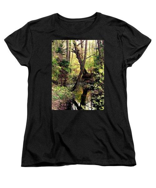 Old Oak Women's T-Shirt (Standard Cut) by Henryk Gorecki