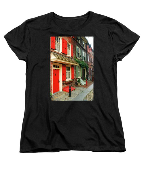 Old Philly Women's T-Shirt (Standard Cut) by James Kirkikis