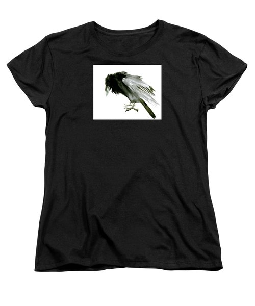 Old Raven Women's T-Shirt (Standard Cut) by Suren Nersisyan