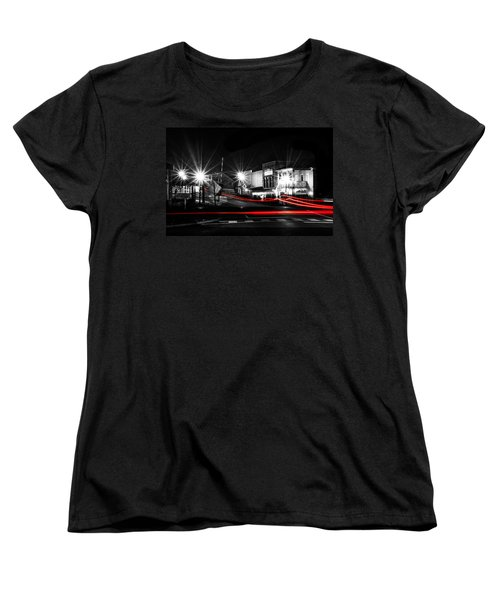 Old Town Helena At Night Women's T-Shirt (Standard Cut) by Shelby  Young