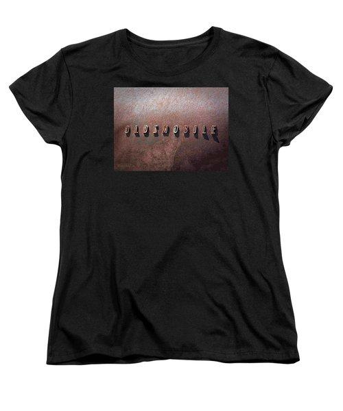 Oldsmobile Women's T-Shirt (Standard Cut) by LeeAnn McLaneGoetz McLaneGoetzStudioLLCcom