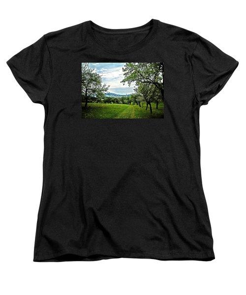 On The Way To Gramastetten ... Women's T-Shirt (Standard Cut) by Juergen Weiss