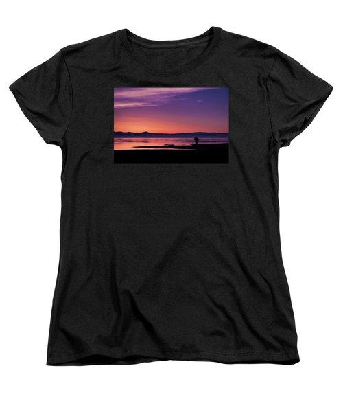 One More Shot Women's T-Shirt (Standard Cut) by Ralph Vazquez