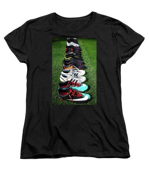 One Team ... Women's T-Shirt (Standard Cut) by Juergen Weiss