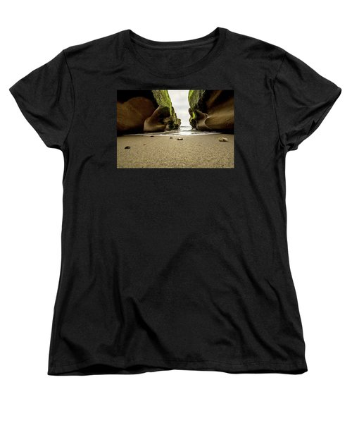 Only At Low Tide Women's T-Shirt (Standard Cut) by Ryan Weddle