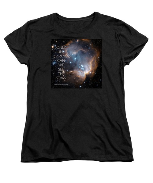 Only In Darkness Women's T-Shirt (Standard Cut) by Lora Serra