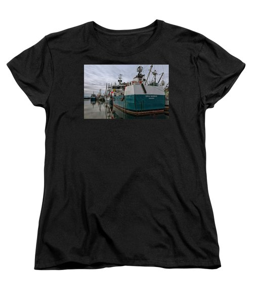 Women's T-Shirt (Standard Cut) featuring the photograph Orca Warrior by Randy Hall