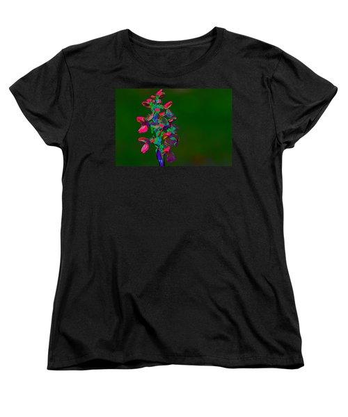 Orchid Women's T-Shirt (Standard Cut) by Richard Patmore