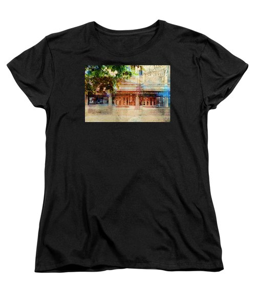 Women's T-Shirt (Standard Cut) featuring the photograph Ordway Center by Susan Stone