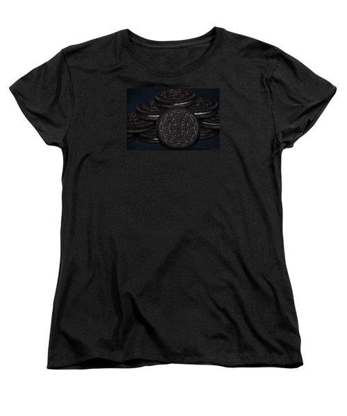 Oreo Cookies Women's T-Shirt (Standard Cut) by Rob Hans