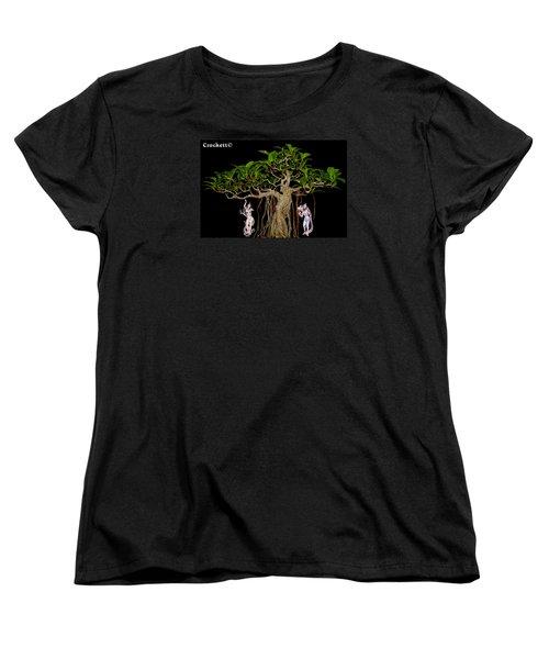 Oriental Bonsai Gods Women's T-Shirt (Standard Cut) by Gary Crockett