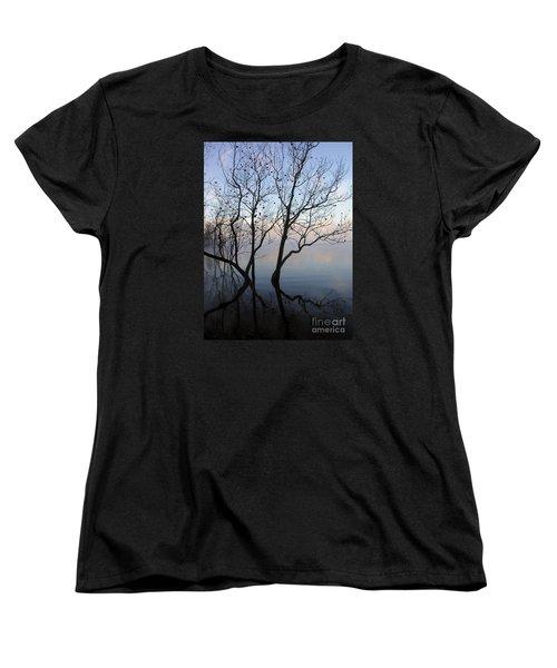 Women's T-Shirt (Standard Cut) featuring the photograph Original Dancing Tree by Paula Guttilla