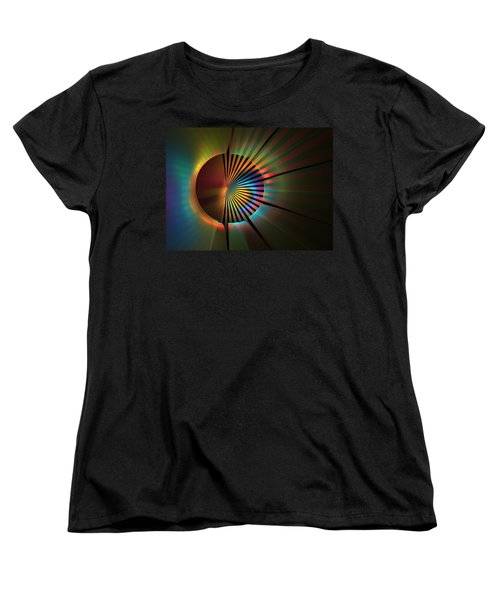 Out Of The Corner Of My Eye Women's T-Shirt (Standard Cut) by Lyle Hatch
