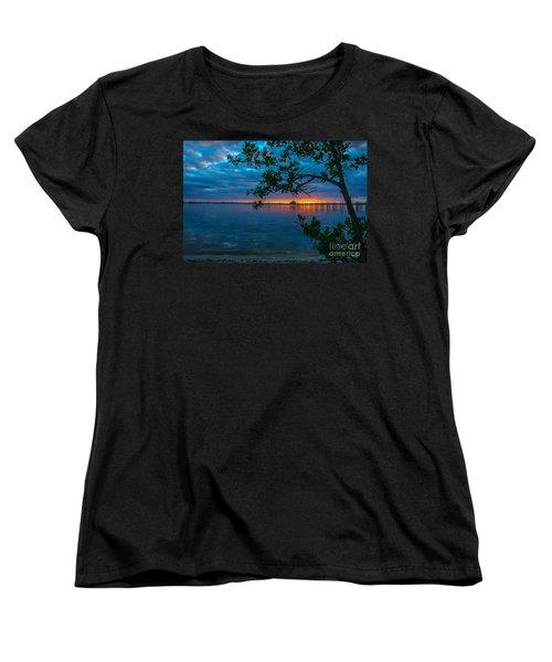 Overcast Sunrise Women's T-Shirt (Standard Cut) by Tom Claud