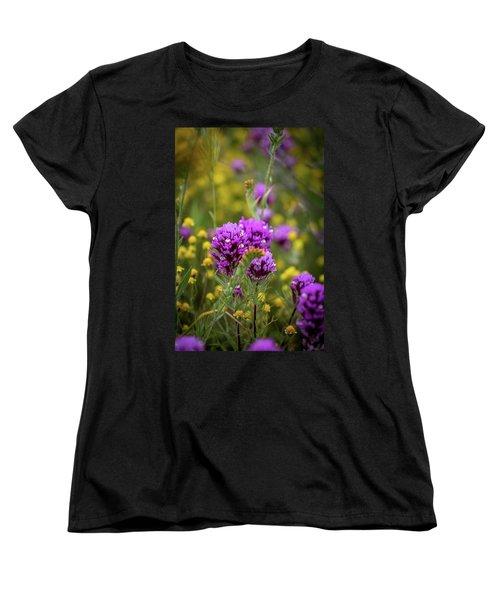 Women's T-Shirt (Standard Cut) featuring the photograph Owl's Clover by Peter Tellone
