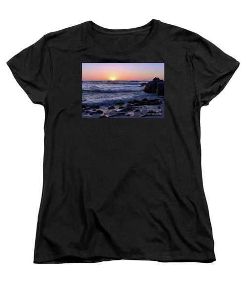 Pacific Twilight Women's T-Shirt (Standard Cut) by Gina Savage