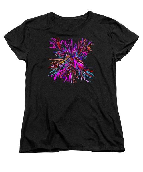 Paint Experiment 036 Women's T-Shirt (Standard Cut)