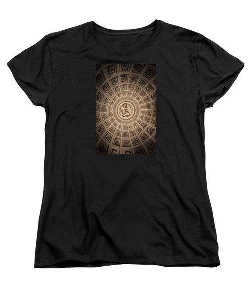 Paris Pantheon Ceiling Women's T-Shirt (Standard Cut) by Jean Haynes